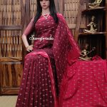 Bhaagya - Ikkat Cotton Saree without Blouse
