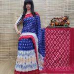 Bhumika - Ikkat Cotton Saree without Blouse