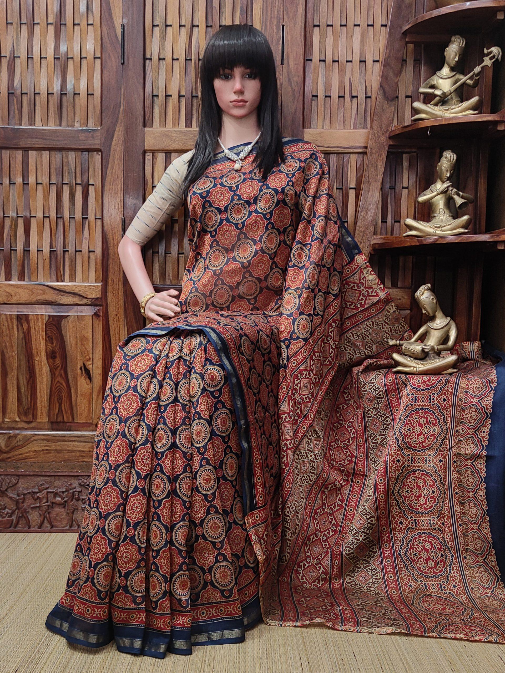 Chaahana - Chanderi Sico Saree