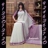 Hemanthi - Handspun Jute Cotton Saree