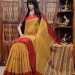 Hrishitha - Jamdani Cotton Saree