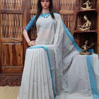 Indrakshi - Jamdani Cotton Saree
