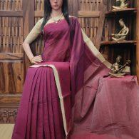 Induprabha - Jamdani Cotton Saree