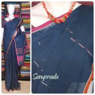 Jaagritha - Jamdani Cotton Saree