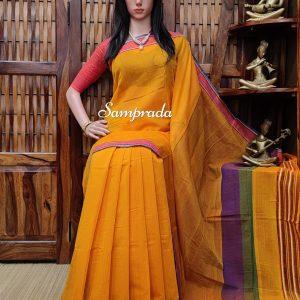 Janika - Jamdani Cotton Saree