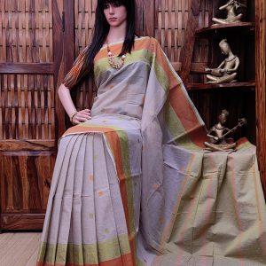 Aanamra - Kanchi Cotton Saree