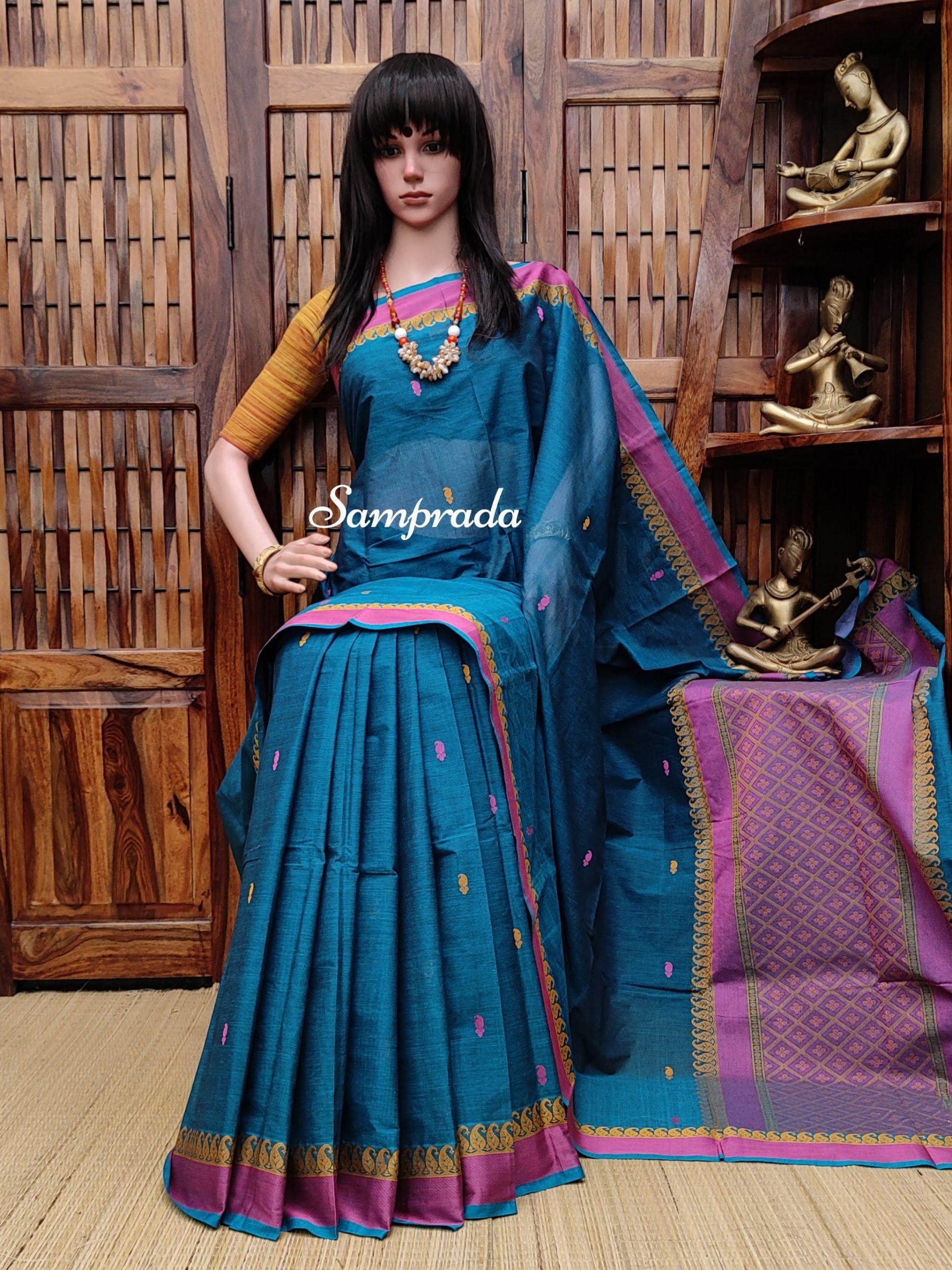 Aashali - Kanchi Cotton Saree
