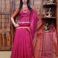 Abhinaya - Kanchi Cotton Saree