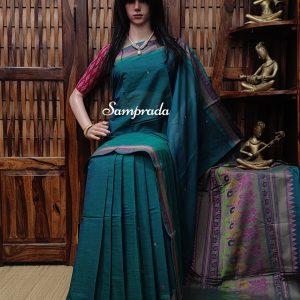 Advaiya - Kanchi Cotton Saree