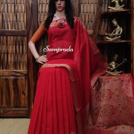 Aindrila - Kanchi Cotton Saree