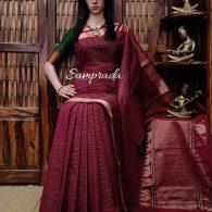 Ambhini - Kanchi Cotton Saree
