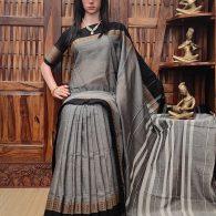 Mahuli - Mercerized Pearl Cotton Saree