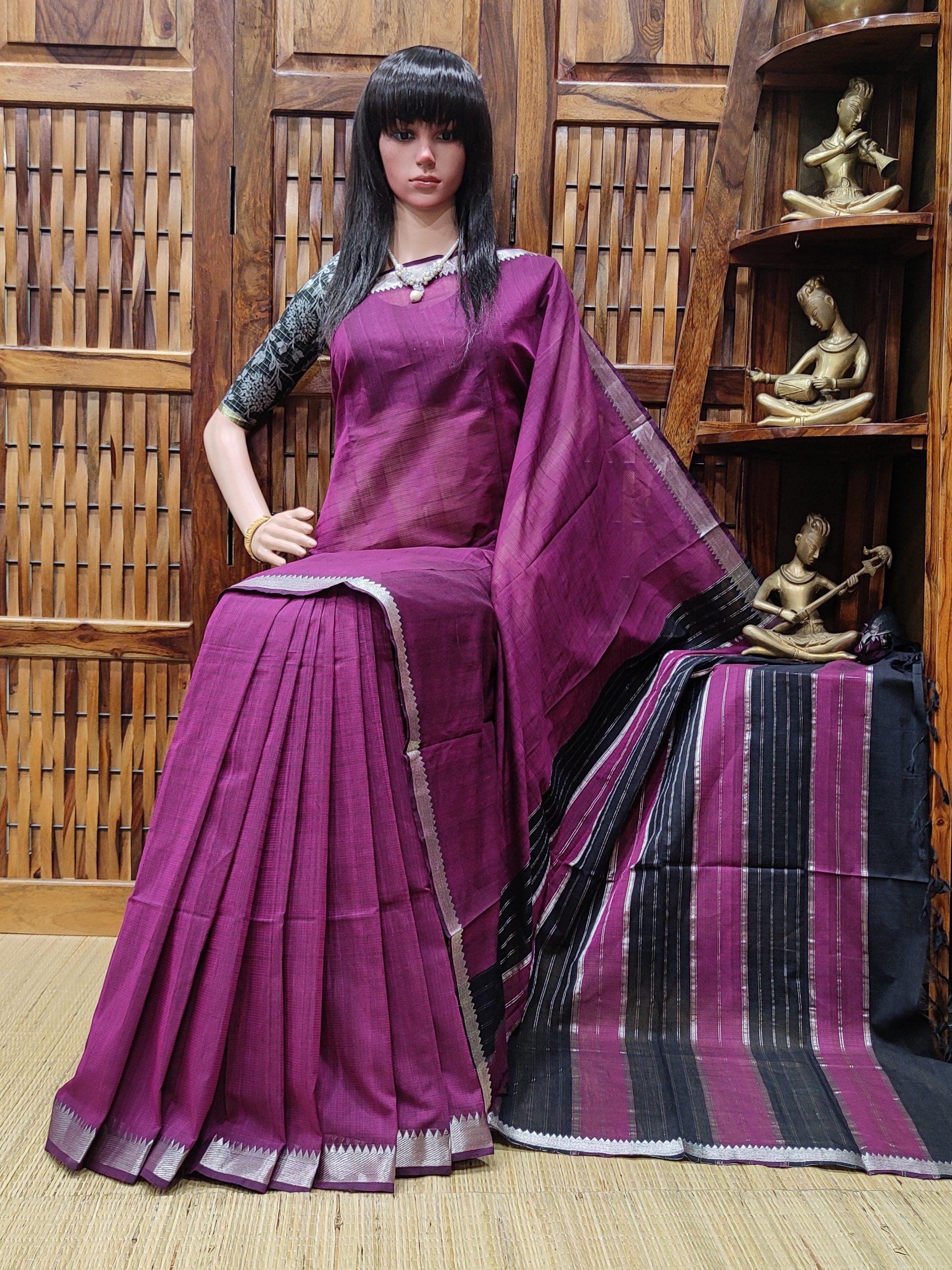 Niramaya - Mangalagiri Cotton Saree