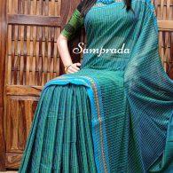 Nanduni - Mercerized Pearl Cotton Saree