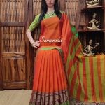 Neelakshi - Mercerized Pearl Cotton Saree
