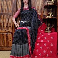 parineetha - Ikkat Cotton Saree