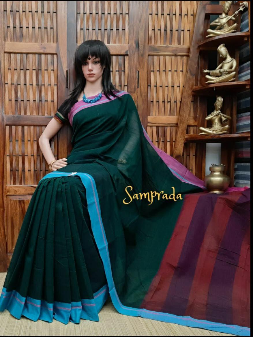 Paavana - Patteda Cotton Saree