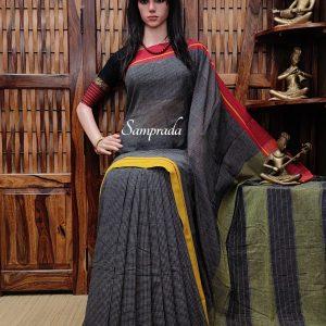 Puruva - Patteda Cotton Saree