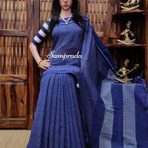 Ribhya - Patteda Cotton Saree