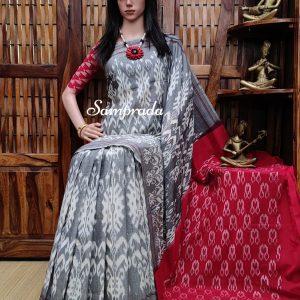 Paurnima - Ikkat Cotton Saree