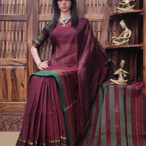 Devani - Pearl Cotton Saree