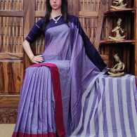 Dhanalakshmi - Pearl Cotton Saree