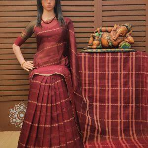 Duladevi - Pearl Cotton Saree