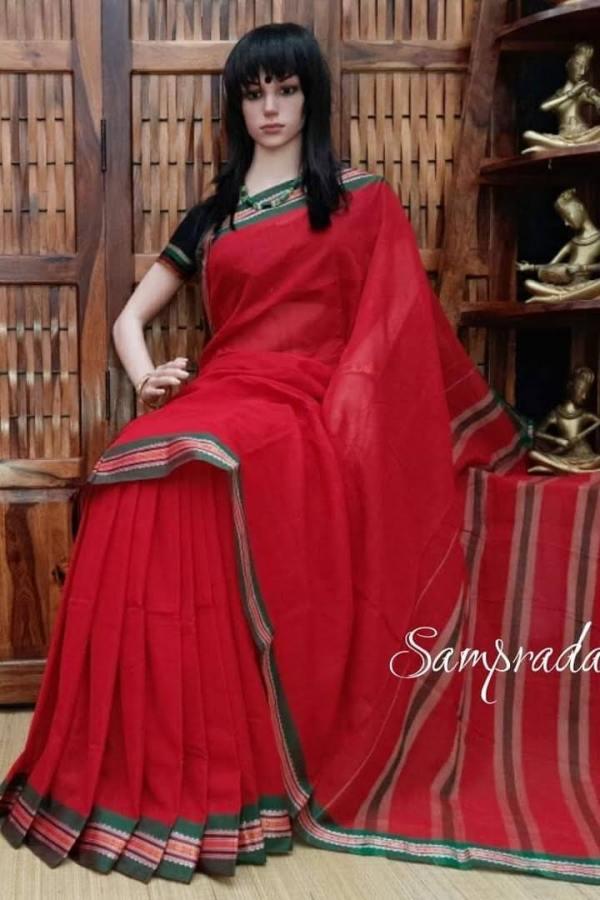Kshanaprabha - Pearl Cotton Saree