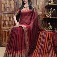 Kumkum - Pearl Cotton Saree