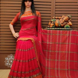 Taiunaya - Pearl Cotton Saree