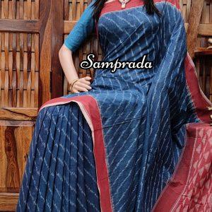 Prachi - Ikkat Cotton Saree