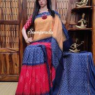 Prathyusha - Ikkat Cotton Saree