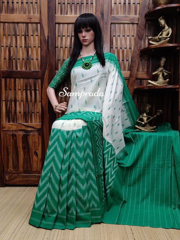 Pratichii - Ikkat Cotton Saree