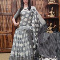 Pratyaya - Ikkat Cotton Saree