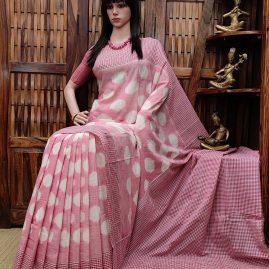 Pulakitha - Ikkat Cotton Saree
