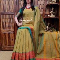Saharshitha - South Cotton Saree
