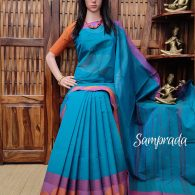 Sanghavi - South Cotton Saree