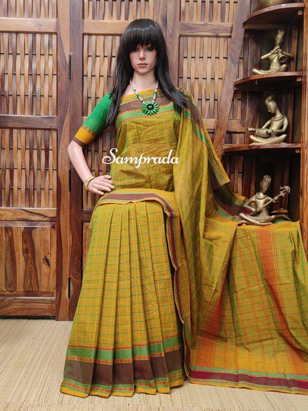 Sanrakta - South Cotton Saree