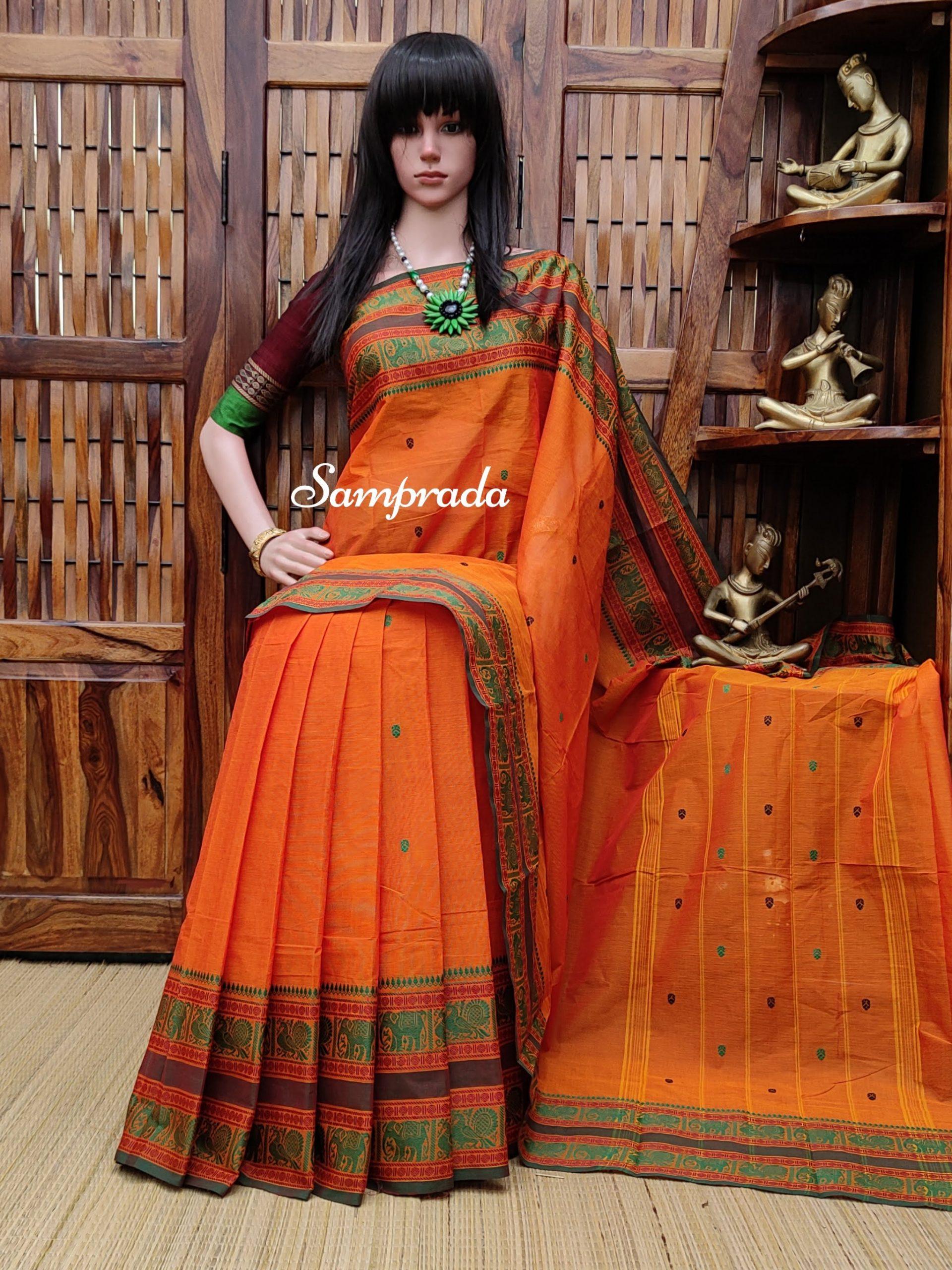 Sanskrithi - South Cotton Saree