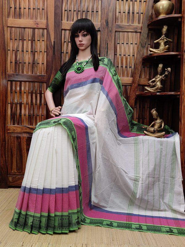 Saumya - South Cotton Saree