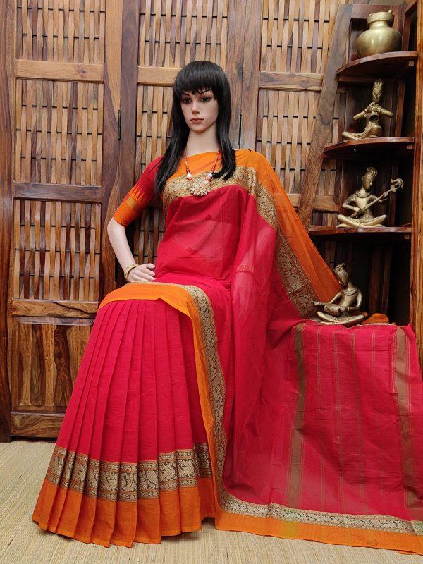Shakambhari - South Cotton Saree