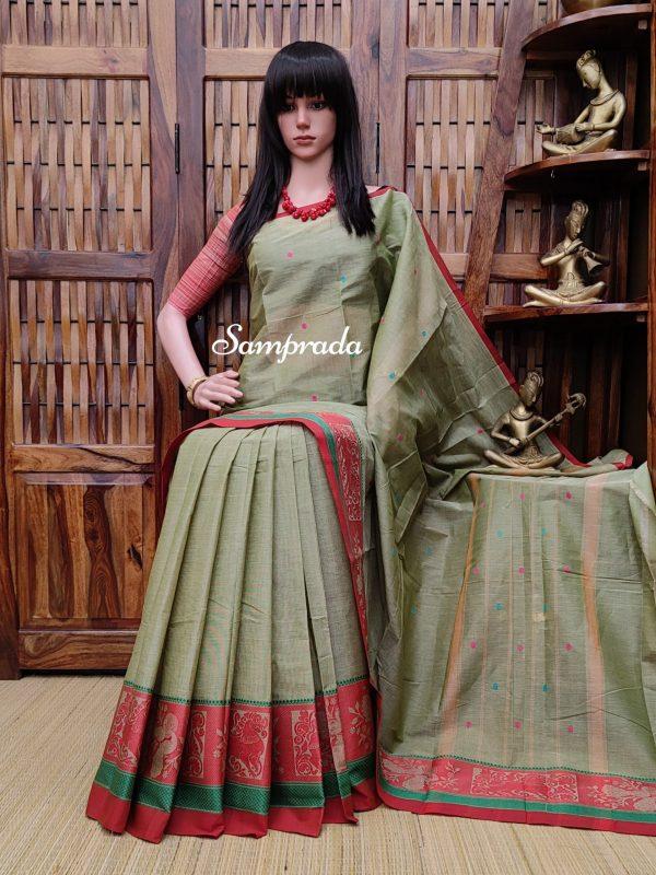 Shubratha - South Cotton Saree