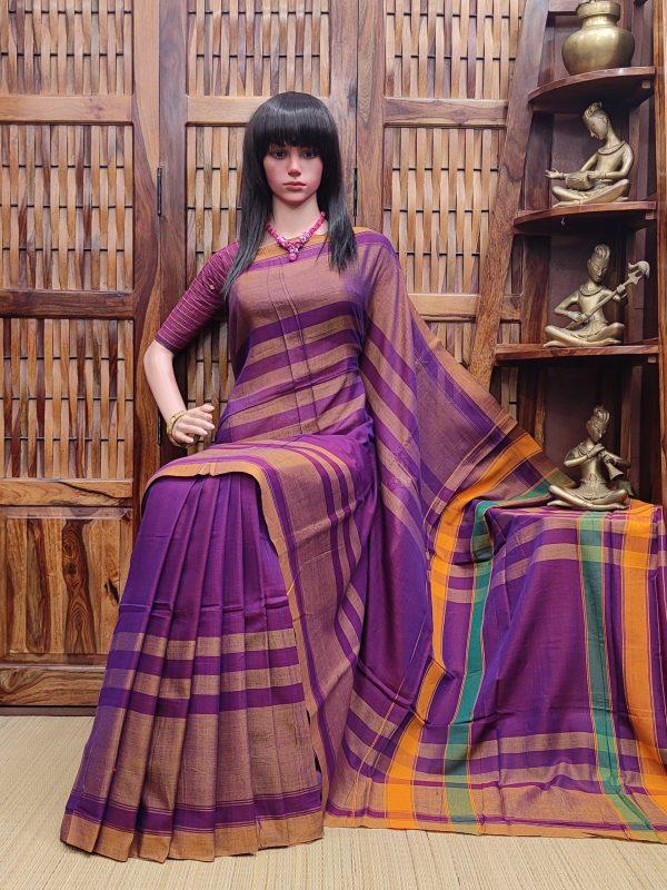 Lochana - Pearl Cotton Saree