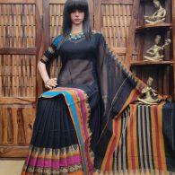 Lolitha - Pearl Cotton Saree