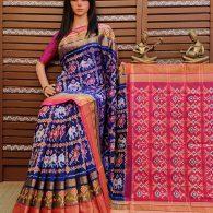 Shruthi - Ikkat Silk Saree