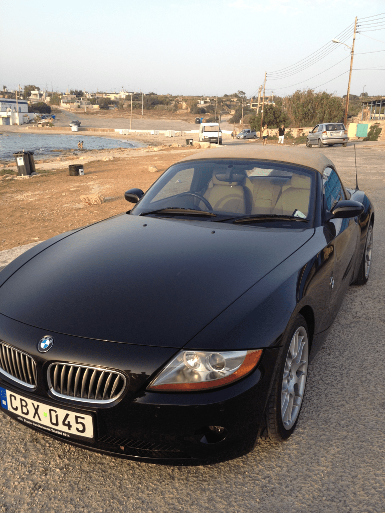 A beautiful condition Z4 we received in exchange for the Mini