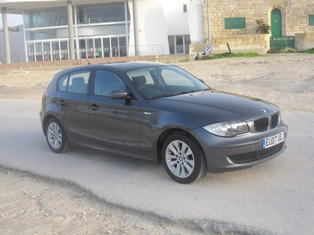 Our first car, here it is in Malta still with the UK plates on