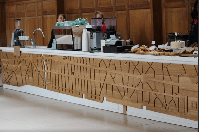 start a coffee shop the servery