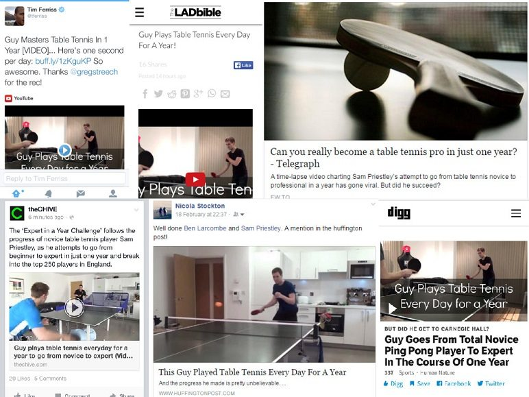 viral youtube video collage expert in a year