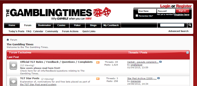 the gambling times matched betting forum